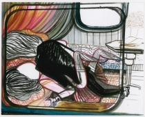 emma-talbot-anais-nins-narrow-boat-night-lovers-2012-247x298mm