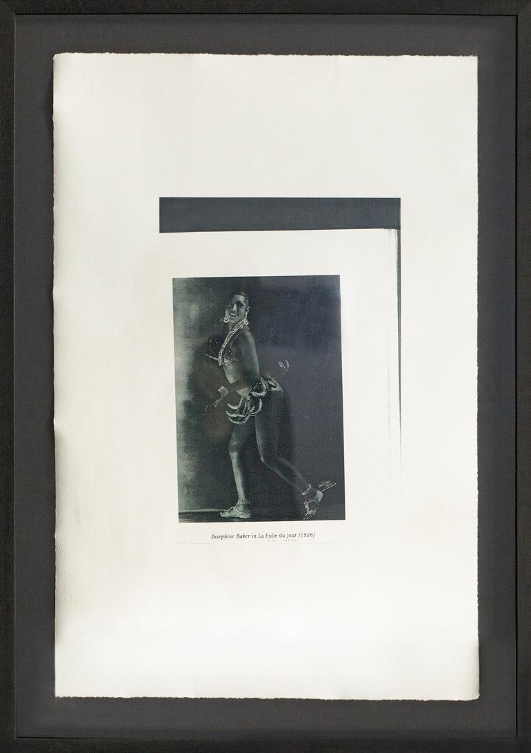 Collage Les Folies Bergère (Josephine Baker)