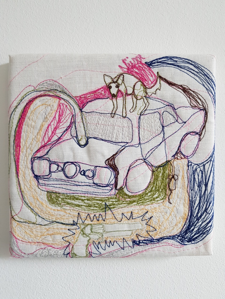 Fuchsratte auf Auto, 2018 MARamirez